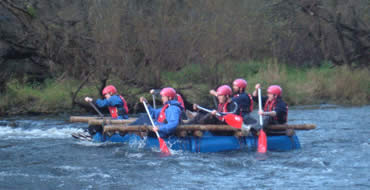 Raft Building Experience for Two - Water - Argos Gift Experiences