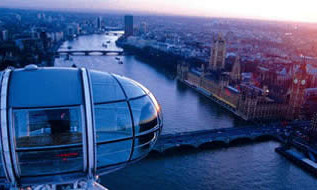 London Eye Flight and Sightseeing River Cruise for Two