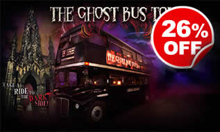 Ghost Bus Tour for Two, Was ?39, Now ?29