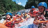 White Water Rafting - Natural Rapids