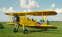 25 Minute Aerobatics Flight in a Vintage Bi-Plane