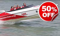 Powerboat Taster for Two, Was £159, Now £79