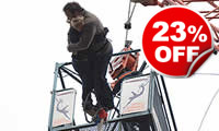 Lovers Leap - A Bungee Jump for Two with Bubbly, Was £129, Now £99