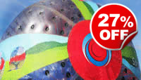 Harness Zorbing for Two, Was £74, Now £54
