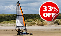 Three Hour Land Yachting Session for Two, Was £119, Now £79