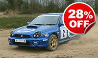 Subaru Impreza Rally Driving Session, Was £249, Now £179