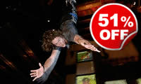 Indoor Bungee Jump, Was £59, Now £29