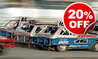 Extreme Dodgems Stockcar Racing, Was £149, Now £119