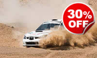 Half Day Rally, Was £199, Now £139