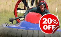 Hovercraft Blast for Two, Was £118, Now £94