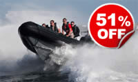 RIB Powerboat Thrill for Two, Was £99, Now £49