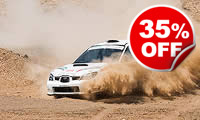 Half Day Rally Driving Session, Was £199, Now £129