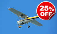 45 Minute Flying Lesson, Was £199, Now £149