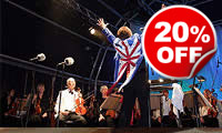 Outdoor Proms Concert For Two, Was £74, Now £59