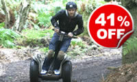 Weekday Segway Rally For Two, Was £74, Now £44