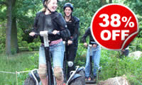 Weekday Segway Rally Experience, Was £39, Now £24