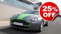 Aston Martin Thrill at Silverstone, Was £119, Now £89