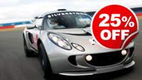 Lotus Exige Thrill at Silverstone, Was £119, Now £89