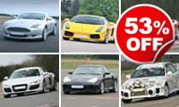 Supercar Drive with High Speed Passenger Ride, Was £149, Now £69