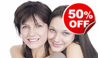 Mother and Daughter Makeover and Photoshoot, Was £49, Now £24.50