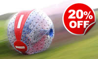 Harness Zorbing, Was £49, Now £39