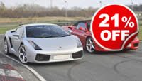 Double Supercar Blast, Was £119, Now £99