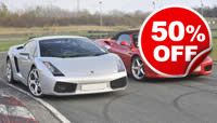 Double Supercar Blast, Was £119, Now £59