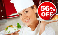 Hands-on Cookery Lesson, Was £99, Now £44