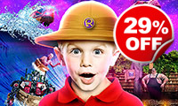 Family Ticket to Ripley's Believe it or Not! London, Was £69, Now £49