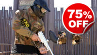 Paintball Entrance For Eight, Was £79, Now £19.75
