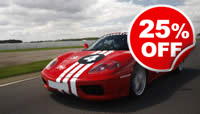 Ferrari Thrill at Silverstone, Was £119, Now £89