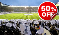 Adult Tour of White Hart Lane for Two, Was £40, Now £20