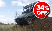 Weekday Off Road Driving Taster, Was £59, Now £39