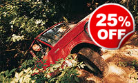 Half Day Off Road Driving, Was £99, Now £74