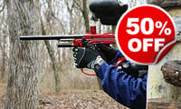 Paintballing For Two, Was £34, Now £17