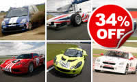 Silverstone Supercar Thrill Choice, Was £119, Now £79