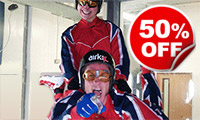 Double Indoor Skydiving Experience for Two, Was £99, Now £49