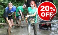 Mud Run Challenge, Was £49, Now £39
