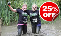 Mud Run Challenge for Two, Was £99, Now £74