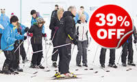 Skiing or Snowboarding Lessons for Two, Was £328, Now £199