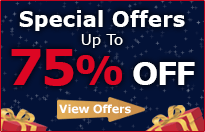 Special Offers - Up to 75% Off