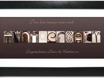 Affection Art Anniversary Large Frame