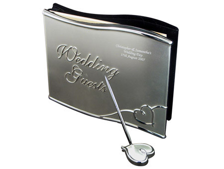 Wedding Guest Book With Pen