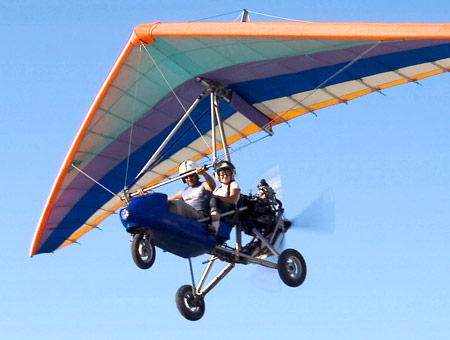 Image of 20 Minute Microlight Flight Experience for Two