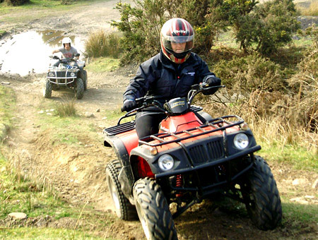 image of Quad Biking Session for Two