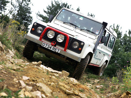 image of Off Road Taster Driving Session for Two