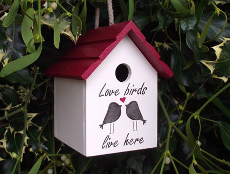 Love Birds Birdhouse - Garden Gifts - Home & Garden Gifts | Gift Ideas for Two
