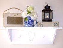 White Shaker Style Shelf