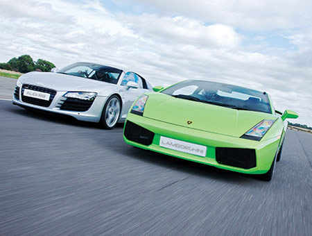 Triple Supercar Drive for Two