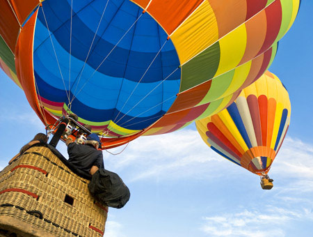 image of Champagne Balloon Flight for Two